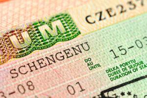 Чешская шенгенская виза