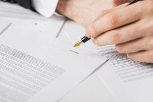 Деловой контракт