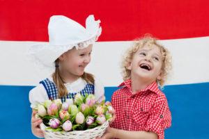 Дети в Голландии