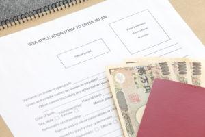 Заявление на визу в Японию