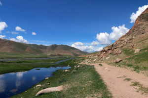 Дорога в Монголии
