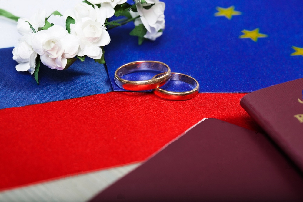 Гражданство РФ по браку – для любящих сердец препятствий нет!