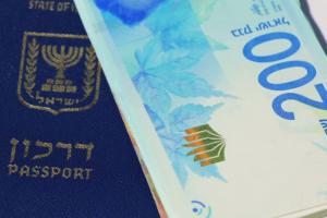Паспорт Израиля и деньги