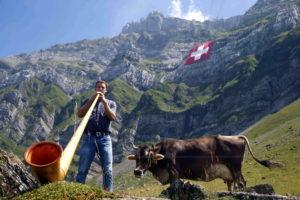Мужчина в Швейцарии