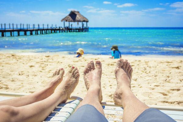 Отдых на пляже Мексики