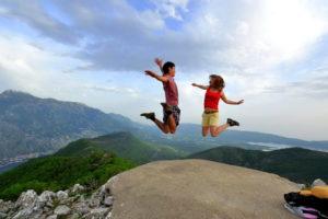 Пара в Черногории