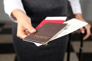 Паспорта и билет