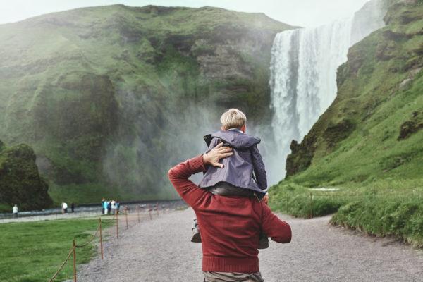 Путешествие в ребенком в Исландию