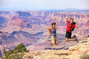 Туристы в США
