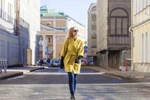 Блондинка в Москве