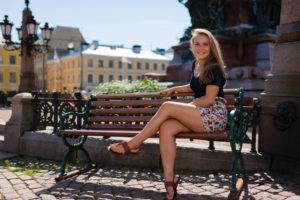 Девушка в Хельсинки