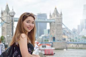 Девушка в Лондоне