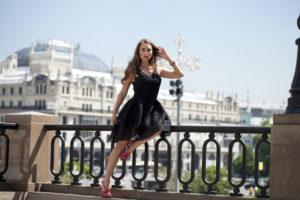 Девушка в России