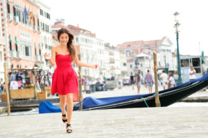 Девушка в Венеции