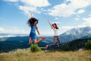 Девушки в Черногории
