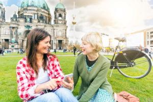 Две девушки в Берлине