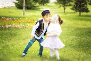 Казахские дети