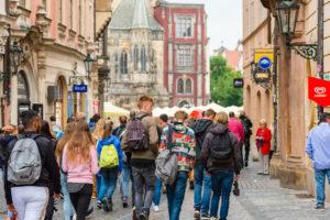 Люди в Чехии