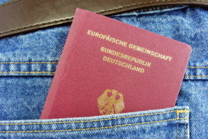 Немецкий паспорт