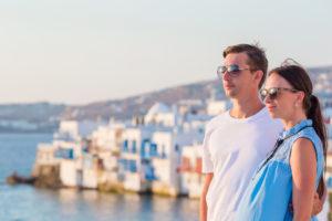 Пара в Греции