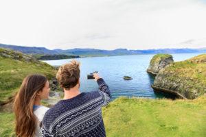 Пара в Исландии