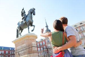 Пара в Мадриде