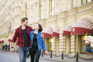 Пара в Москве