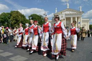 Парад в Литве