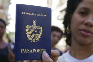 Паспорт Кубы