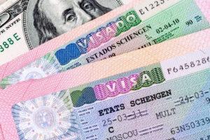 Паспорта с Шенгеном