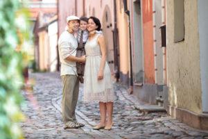 Семья в Латвии
