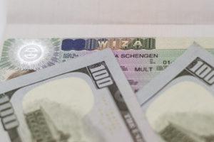 Шенгенская виза и деньги