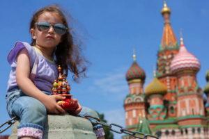 Девочка в Москве
