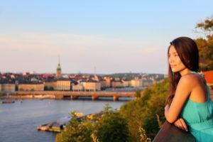 Девушка в Стокгольме