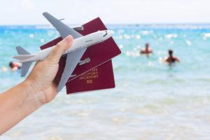 Паспорт на пляже