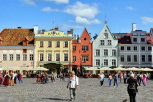 Площадь в Таллине