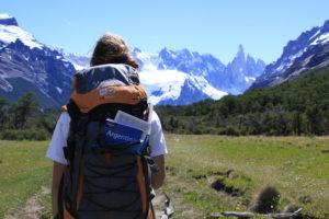 Турист в Аргентине