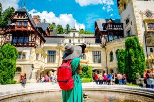 Турист в Румынии