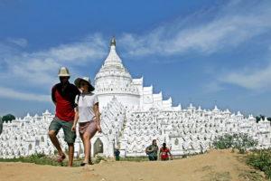 Туристы в Мьянме