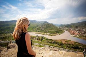 Женщина в Грузии