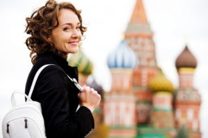Женщина в Москве
