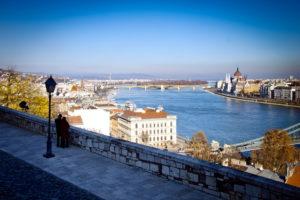 Пара в Будапеште