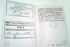 Паспорт с пропиской