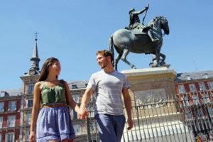 Пара в Испании