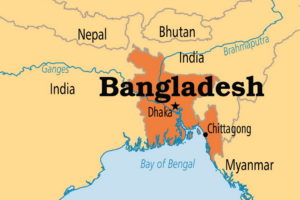 Бангладеш на карте