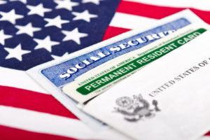 Флаг США и приглашение