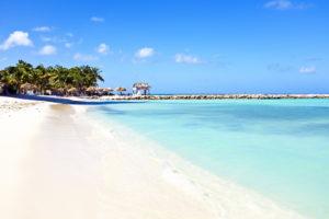 Пляж в Арубе