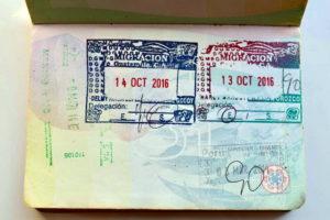 Виза в Гватемалу