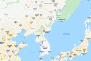 Карта КНДР