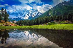 Деревня в Пакистане